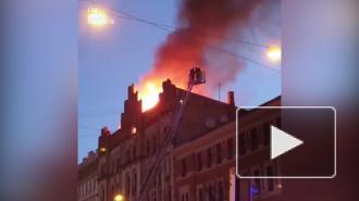 Восемь человек погибли из-за пожара в хостеле в центре Риги