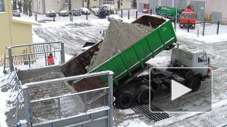 В снегоплавильнях Петербурга не хватает снега