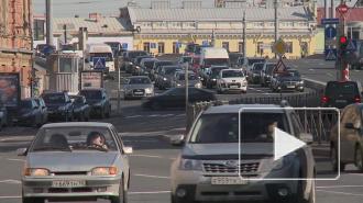Васильевский остров ожидает два месяца дорожного ада