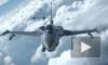 Американский истребитель F-16 в небе над Японией выронил учебную ракету