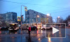 Видео: на углу Белы Куна и Пражской столкнулись автобус и маршрутка