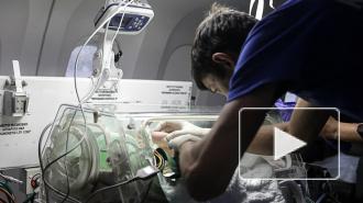 В Петербург из Крыма доставили двух новорожденных с тяжелыми врожденными пороками сердца
