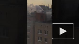"""На улице Стойкости многоквартирный домполыхает из-за """"хабарика"""""""