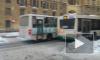 Из-за столкновения Фольксвагена и Газели встал весь общественный транспорт на Красных Текстильщиков