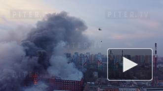"""Пожар на """"Невской Мануфактуре"""": что известно сутки спустя"""