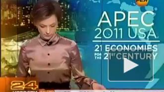 Ведущую канала Рен-ТВ отстранили от эфира после fuck в прямом эфире