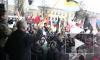 """Нацболы захватили трибуну на митинге """"За честные выборы"""" в Петербурге"""