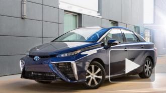 Стартовали продажи Toyota Mirai - первого в мире серийного автомобиля с водородным двигателем