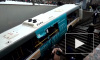 Автобус въехал в подземный переход в Москве: фото и видео с места ЧП