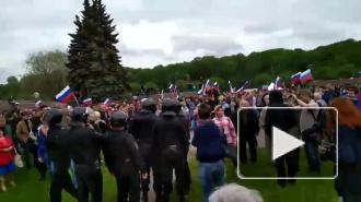 """Координатора штаба Навального в Петербурге оштрафовали за """"локти сопротивления"""""""