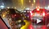 Перед Кантемировским мостом страшное ДТП: одна из машин вспыхнула