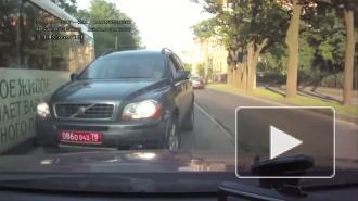 Дипломат-нарушитель. Автомобиль польского консульства нагло ехал по встречке