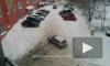 """Непокоренный Пензенский """"Эверест"""": в сети появился ролик, в котором машина безуспешно пыталась заехать в горку"""