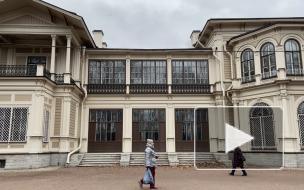 Как выглядит отреставрированная дача Громова в Лопухинском саду: взгляд Piter.TV