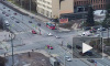 Появилось видео ДТП с участием скорой помощи на Светлановском проспекте