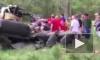 Появилось видео с места крушения американского военного вертолета