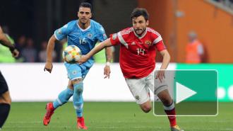 Стал известен состав сборной России в матче против Сан-Марино