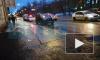 Жёсткое видео: в Выборгском районе вне зоны пешеходного перехода насмерть сбили женщину