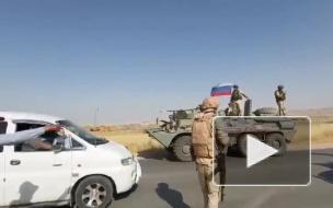 Американские военные преследовали военную колонну России в Сирии