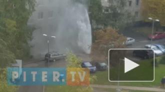 Столб кипятка на улице Жени Егоровой ликвидировали