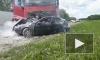 В Шиловском районе погиб водитель из Санкт-Петербурга и трое его пассажиров