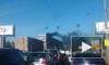 Видео: горит дом на Народной улице