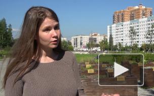 Активисты своими силами восстанавливают садик для маломобильных петербуржцев в Муринском парке