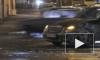 Автомобиль врезался в опору моста на Ветеранов. Погиб человек