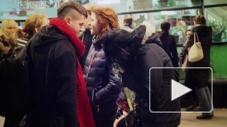 """Неформалы пугают петербуржцев у """"Волковской"""""""