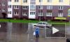 Калининград ушел под воду из-за сильных ливней