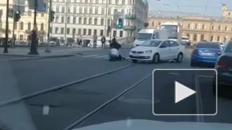 Пенсионерка пострадала в ДТП на пешеходном переходе в Петербурге