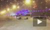 Видео: в Ростове маршрутка устроила опасный дрифт на Театральной площади
