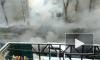 Видео: на Братьев Радченко прорвало трубу, улицу заполонил пар