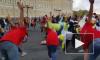"""На Дворцовой площади проходит спортивный праздник """"Питерский заряд"""""""