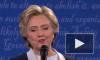 Полное видео: муха села на лицо бесчувственной Хиллари Клинтон