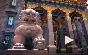 Буддийский храм в Санкт-Петербурге - Дацан Гунзэчойнэй