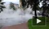 В Петербурге из-под земли забил фонтан кипятка