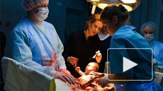"""""""Тест на беременность"""": на съемках 1 серии опытные врачи помогали актерам резать пациентов"""