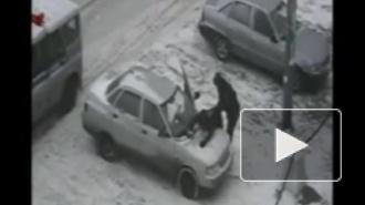 В Петербурге на месте преступления задержаны двое угонщиков