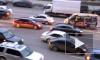 Видео с места ДТП в Москве, где столкнулись 12 иномарок