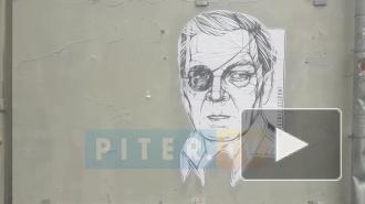 На Васильевском острове появилось граффити с Александром Невзоровым
