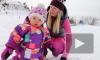 Самая маленькая годовалая сноубордистка восхитила соцсети