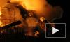 Опасное видео из Барнаула: пожар уничтожил жилой дом