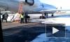 Самолет Як-42 загорелся на взлете в Саратове