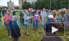 Видео: петербуржцы митингуют за сохранение Муринского парка