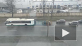 На Митрофаньевском шоссе сломался пассажирский автобус ...