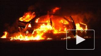 ДТП в Санкт-Петербурге: на Володарском мосту сгорела иномарка, массовая авария на Петербургском шоссе