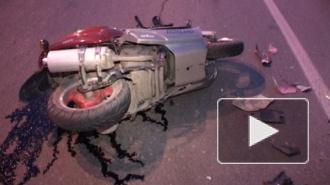 В Пушкине две иномарки насмерть затолкали молодого мотоциклиста