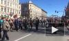 """Появилось видео с шествия """"Бессмертного полка"""" в Петербурге"""