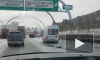 Массовое ДТП: на ЗСД столкнулись семь автомобилей
